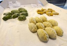 Mercato Plebiscito Roma pasta ripiena Bottega Gamberoni