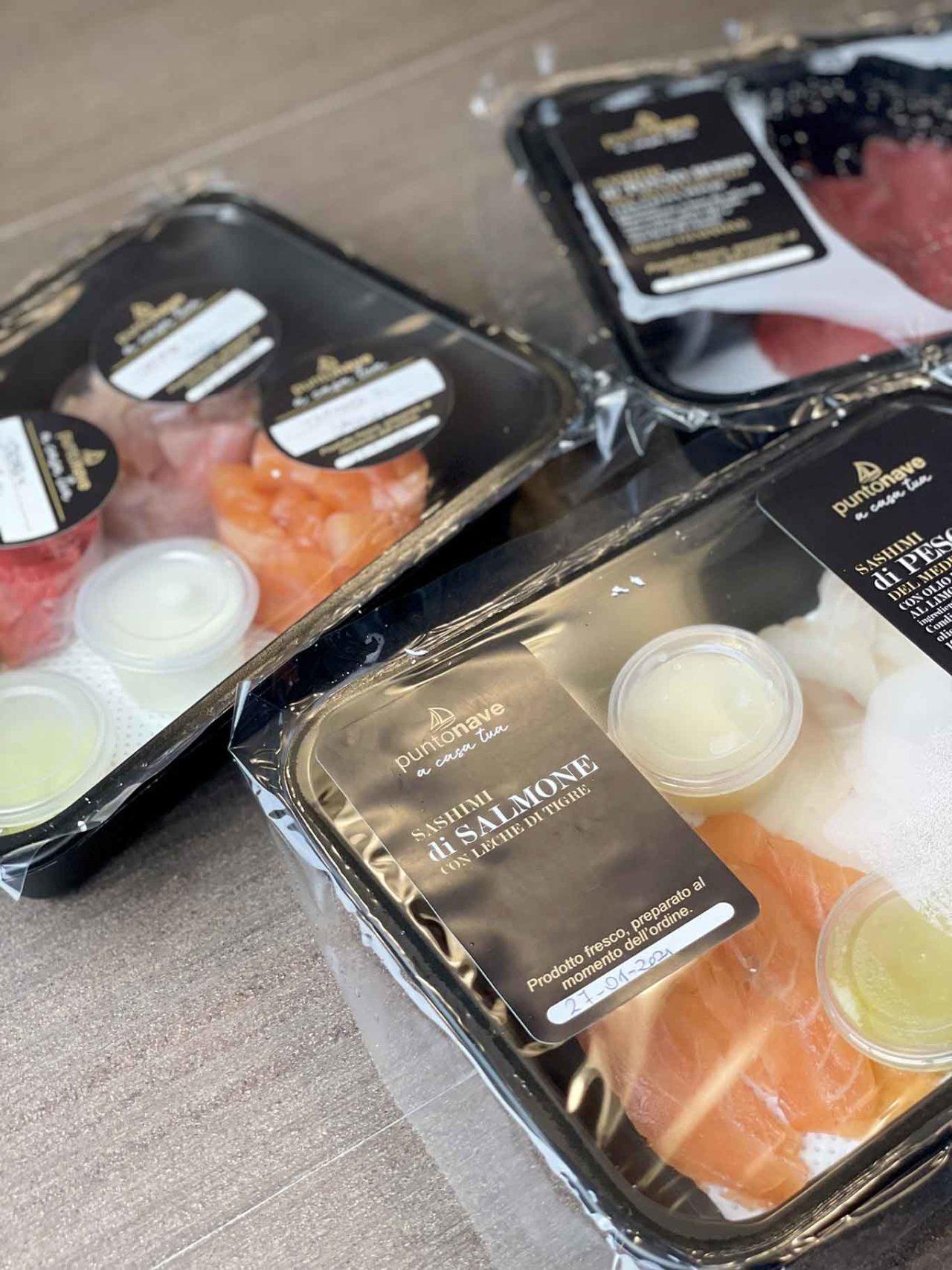 Punto Nave ristorante di pesce delivery crudi di mare