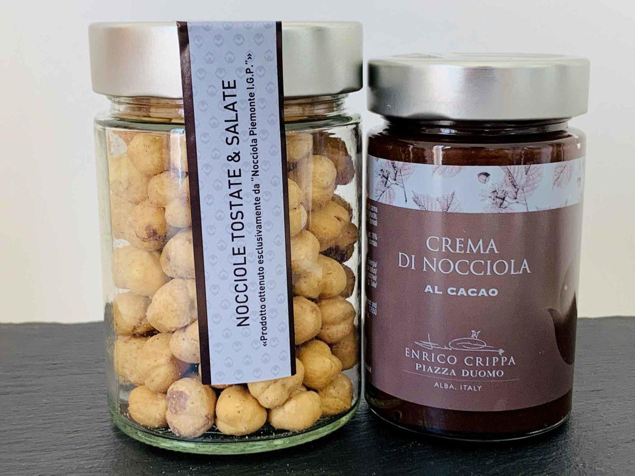 nocciole e crema di nocciole Enrico Crippa