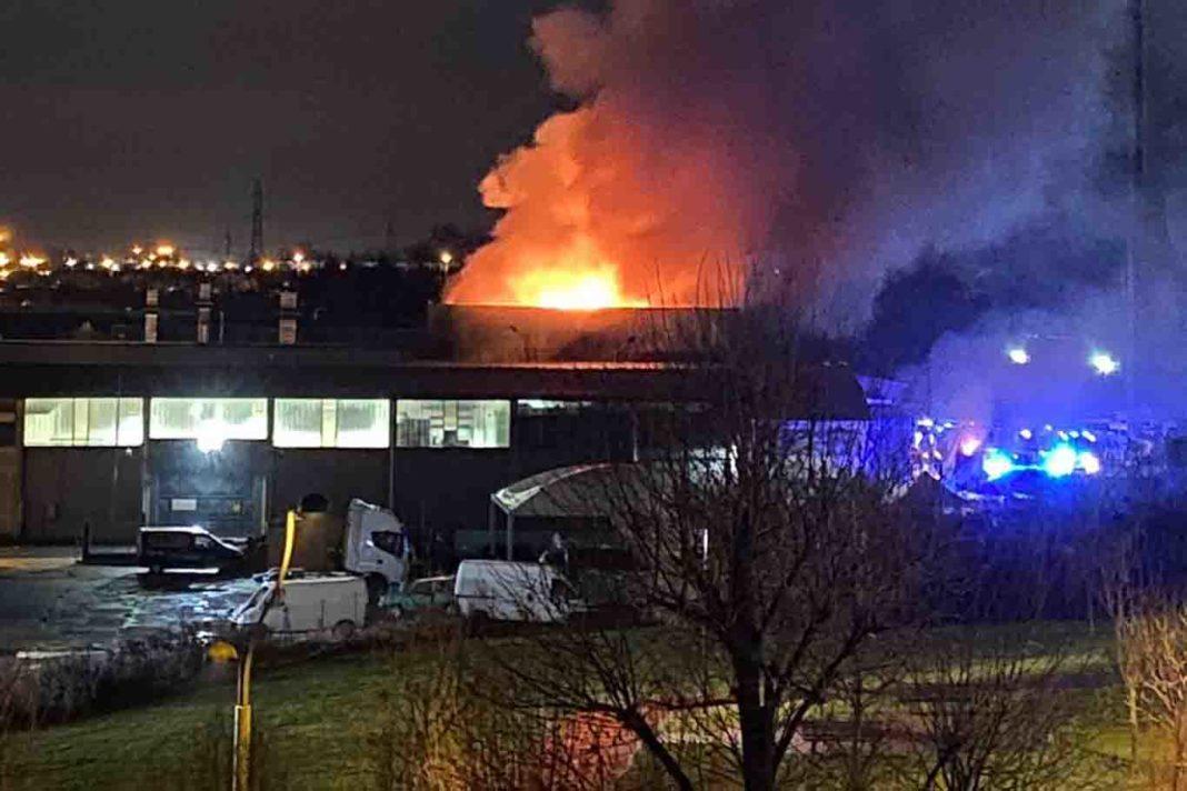 fabbrica della trippa moncalieri incendio