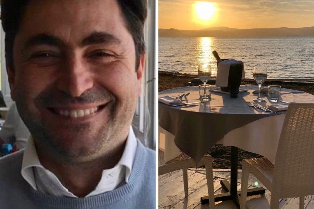 Alessandro Gulloto ristorante La Caletta Ristori