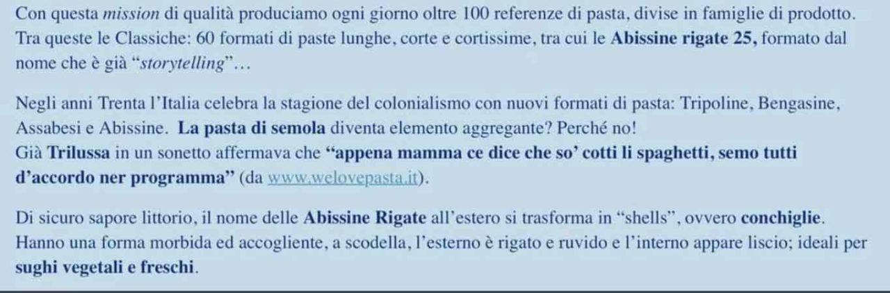 pasta abissine