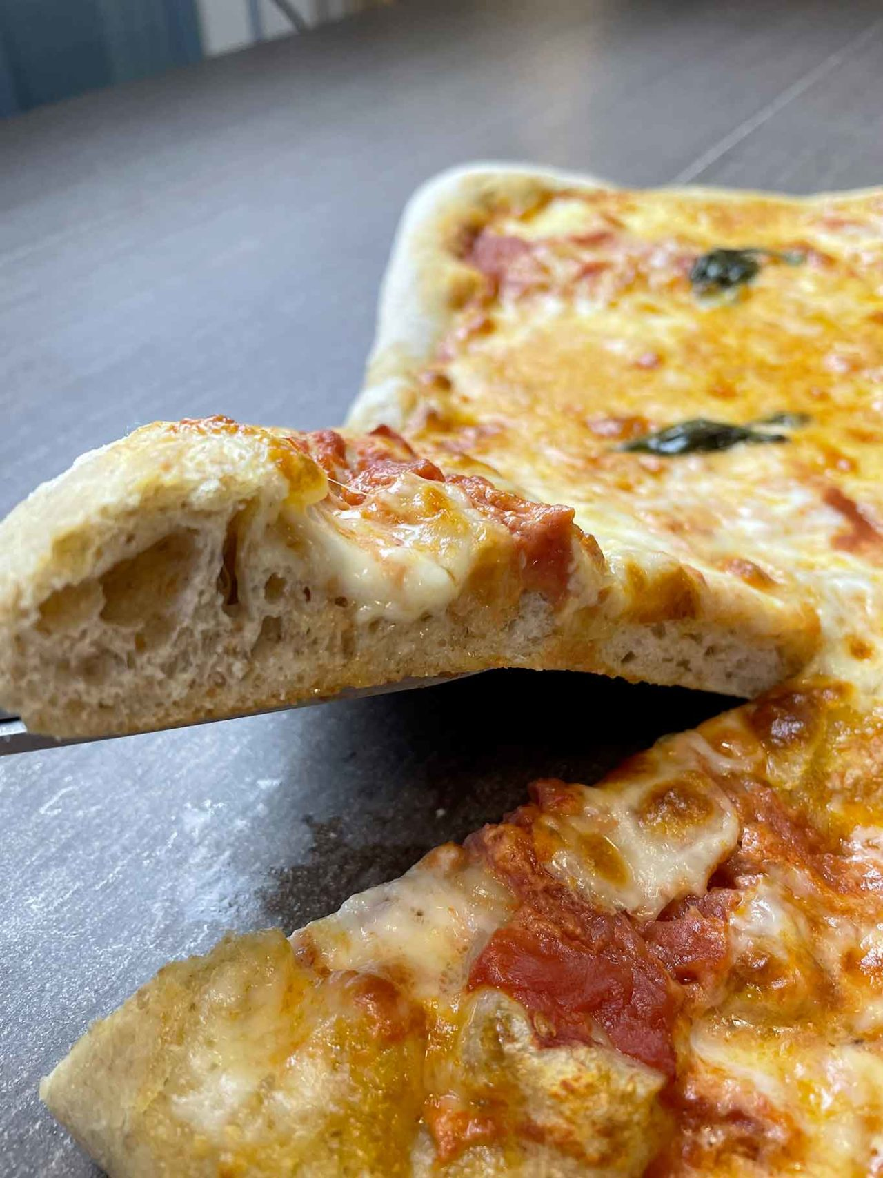 pizza integrale fatta in casa