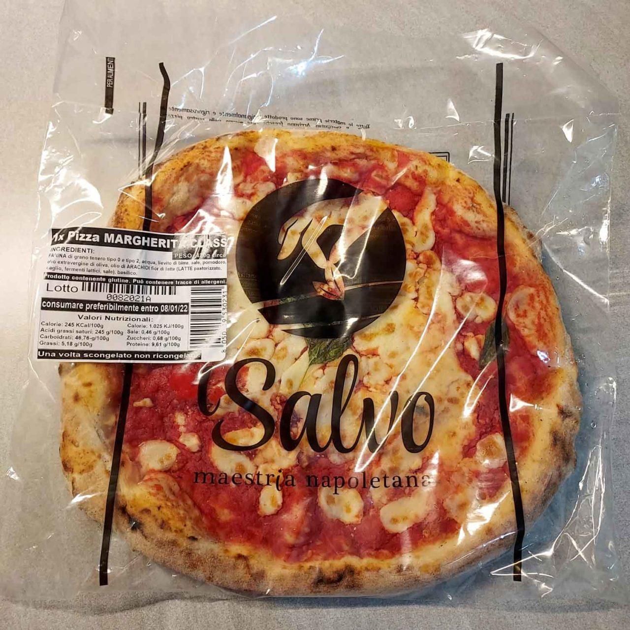 pizza surgelata confezione
