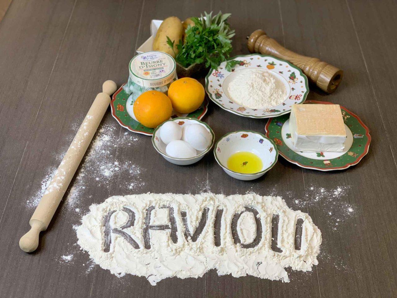 ravioli di grano saraceno al taleggio ingredienti