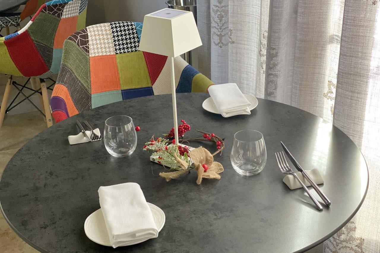 ristorante Bramea Basilicata tavolo