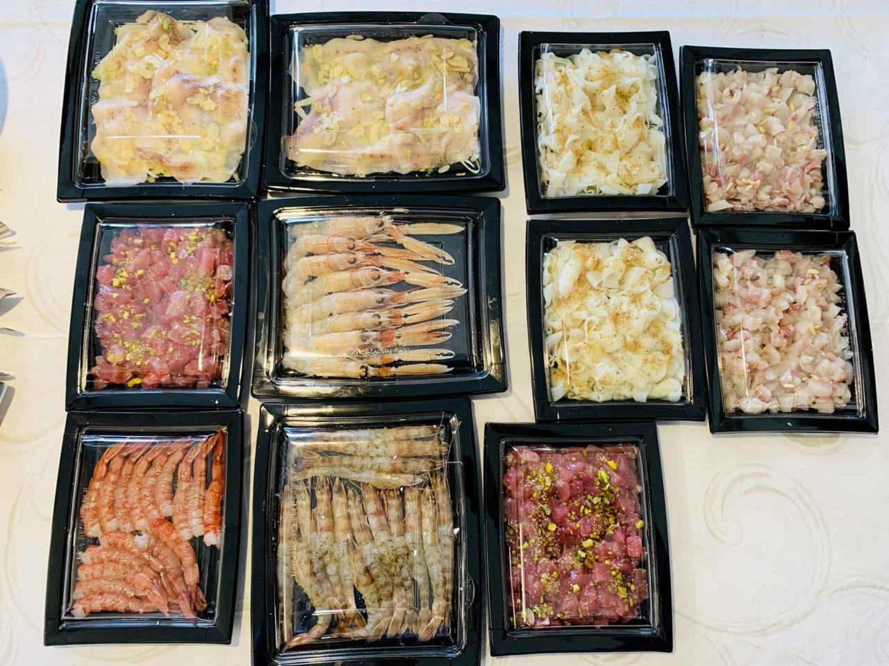ristorante Lucia Giulianova Abruzzo  pesce delivery