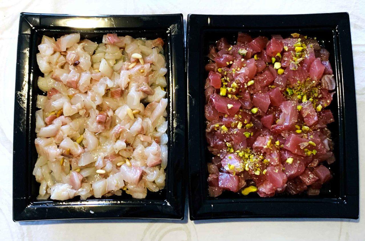 ristorante Lucia Giulianova Abruzzo  tartare pesce delivery