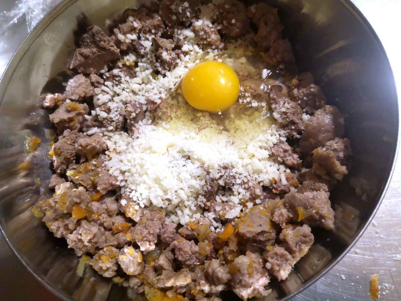 coniglio in porchetta uovo