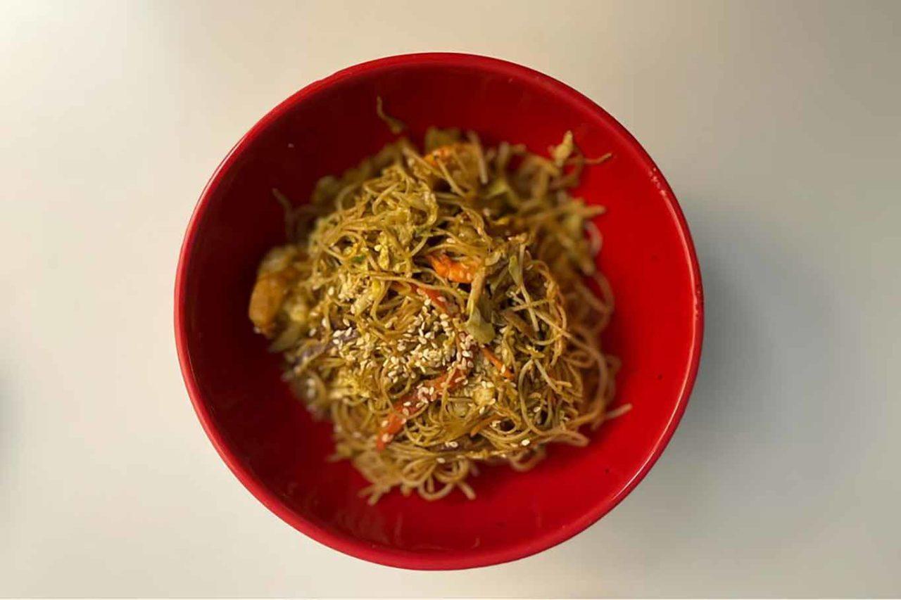 Ba ristorante cinese Milano spaghetti singapore