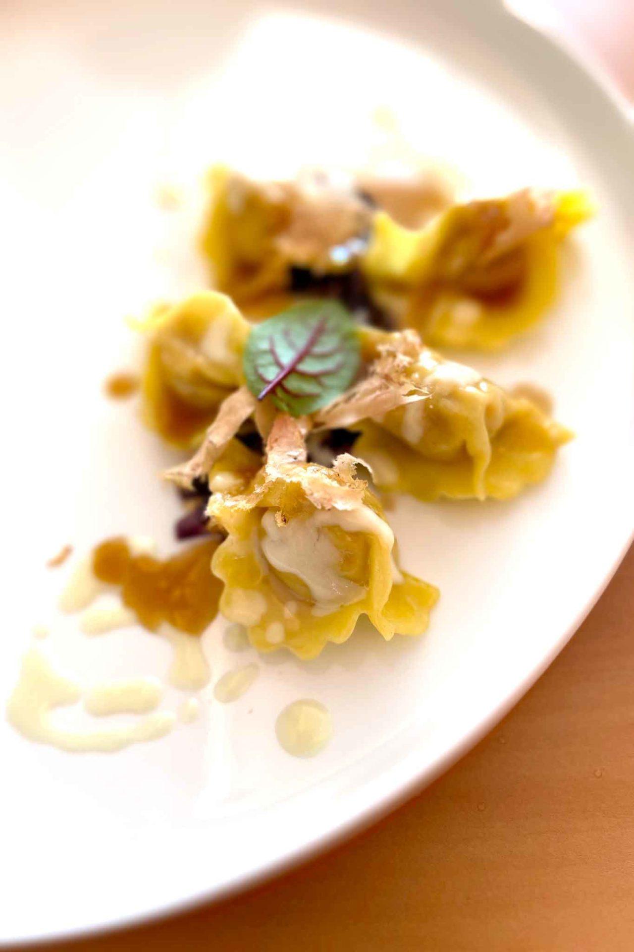 tortelli di pollo Contaminazioni ristorante Somma Vesuviana Napoli Giuseppe Molaro