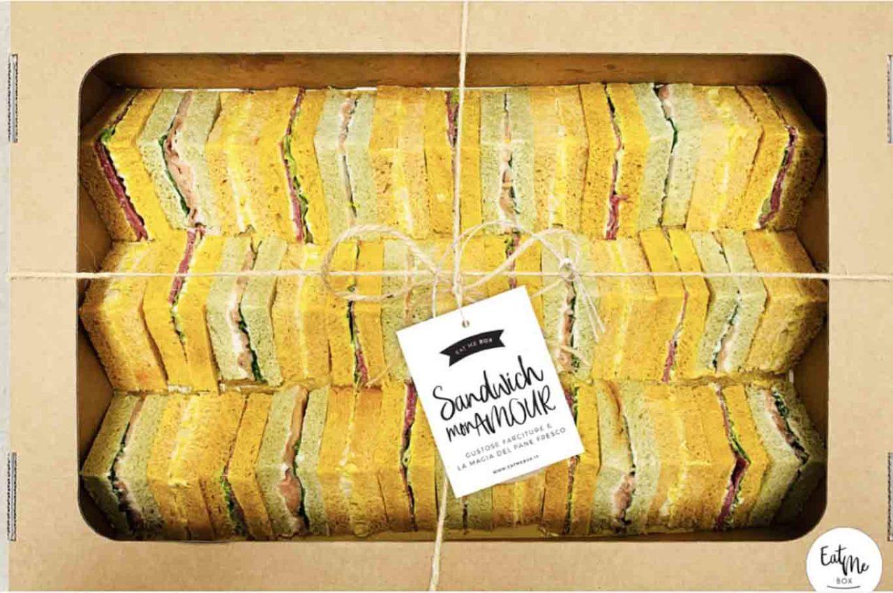 Eat Me Box Roma sandwich
