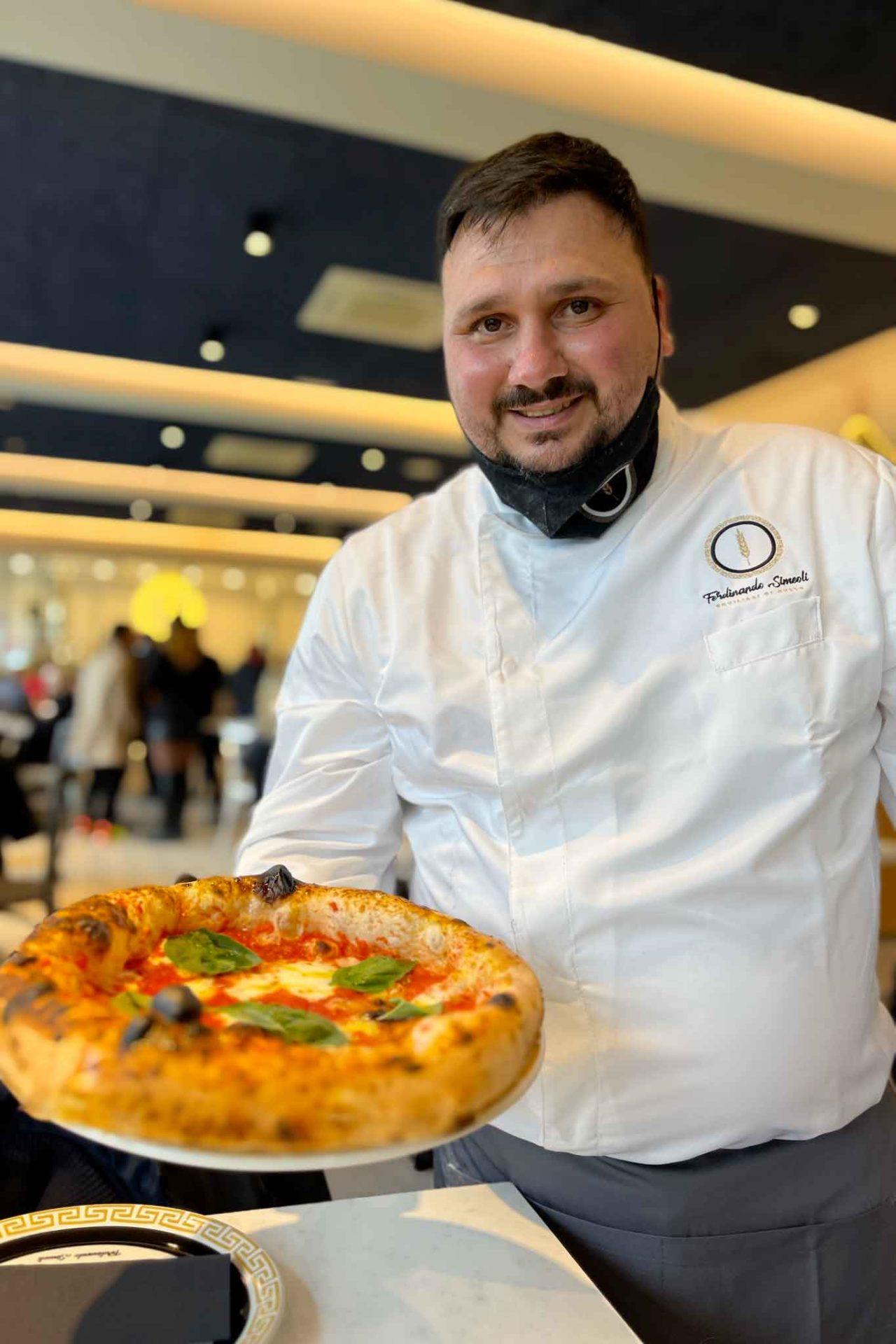pizza canotto margherita Ferdinando Simeoli