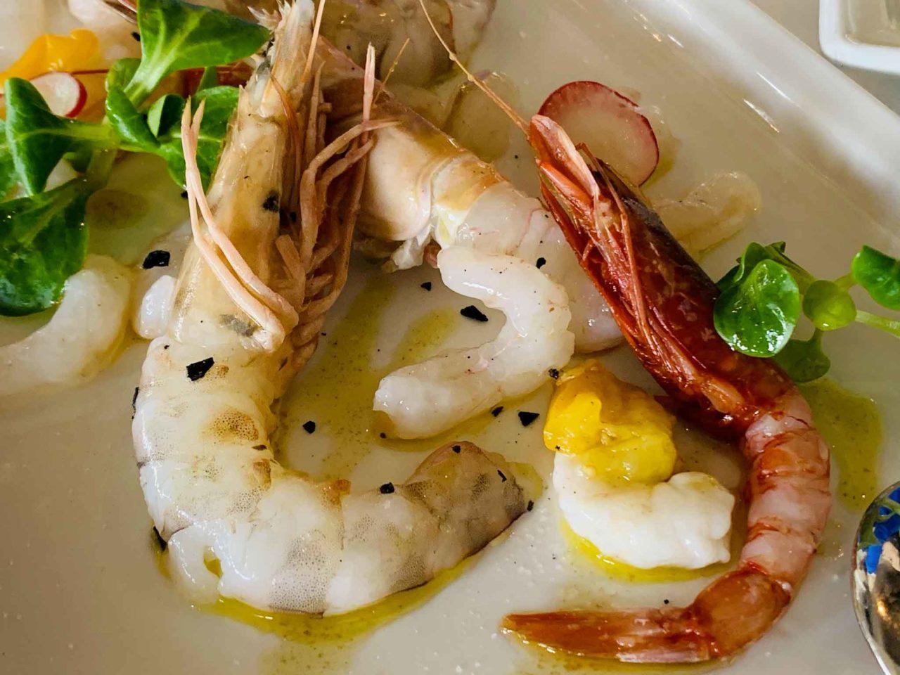 La Zattera ristorante di pesce Pescara crudi