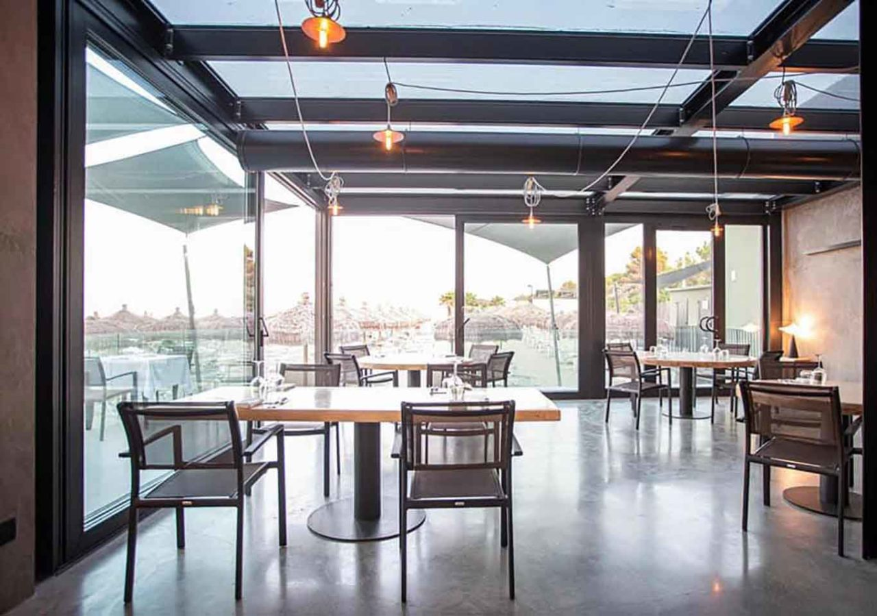 La Zattera ristorante di pesce Pescara sala