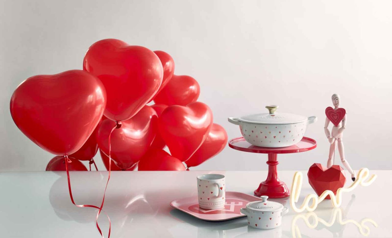 Le Creuset Amour Collection san valentino