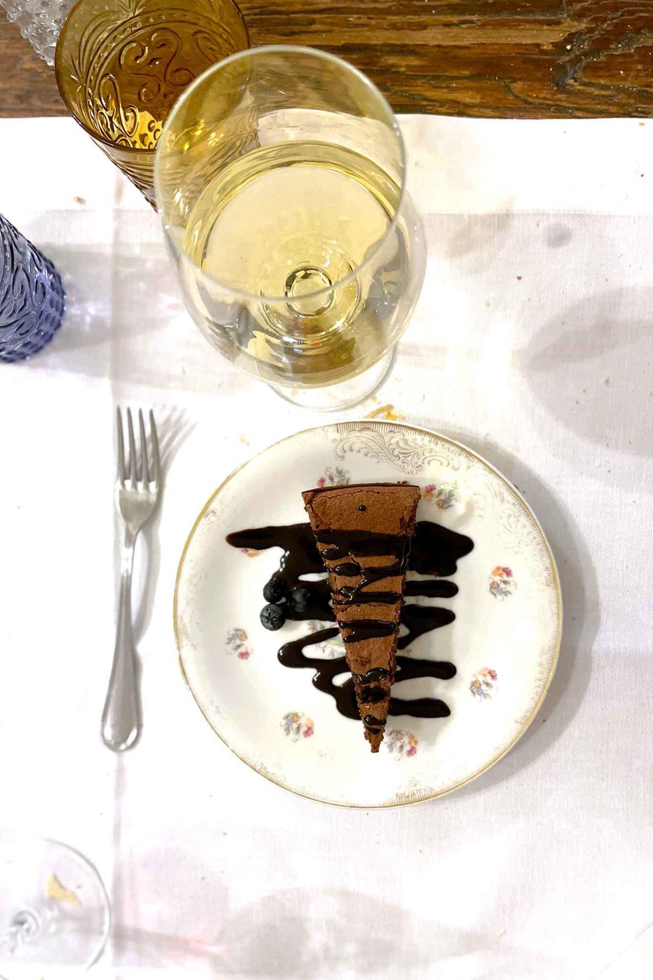 tenerina di cioccolato