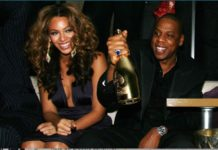 beyonce champagne armand de brignac jay z