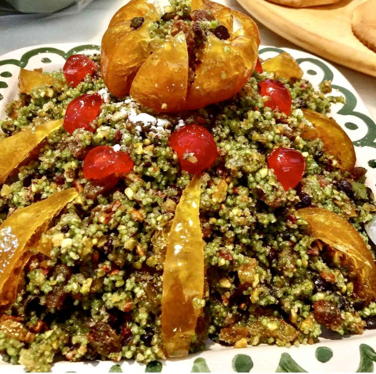 dolci antichi di Palermo cous cous dolce