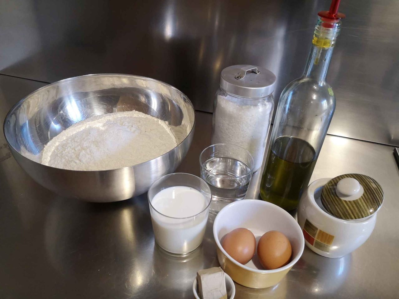 gnocco fritto o torta fritta ingredienti