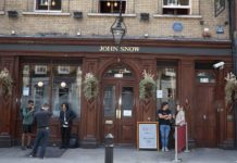 john snow pub soho eater london