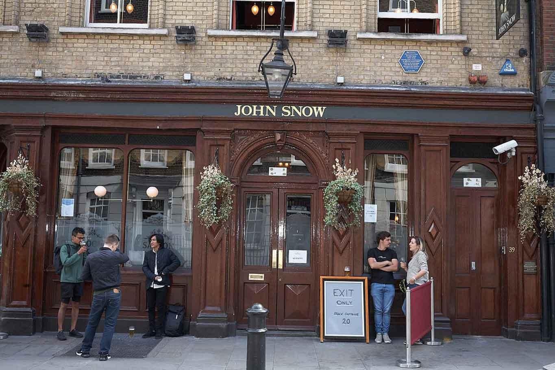 john snow pub soho eater london