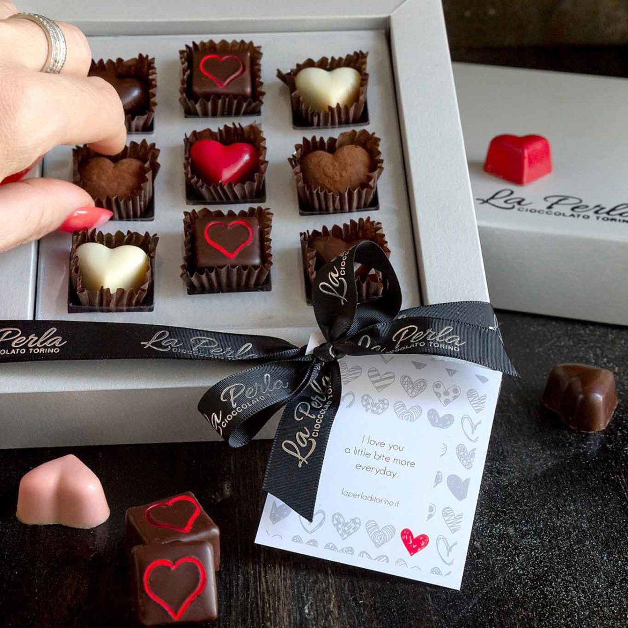 la perla torino cioccolatini