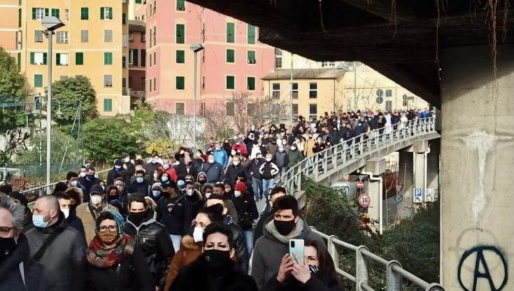Liguria arancione: protesta ristoratori