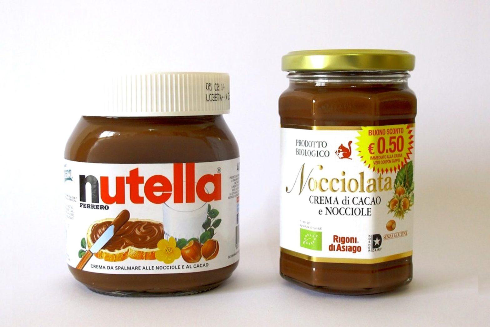 Nutella vs Nocciolata Rigoni