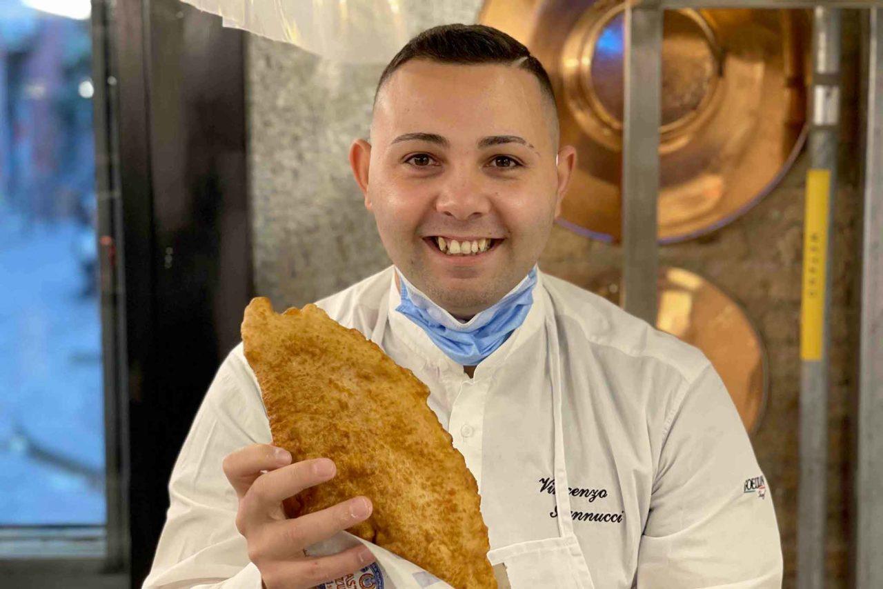 pizza fritta Vincenzo Iannucci