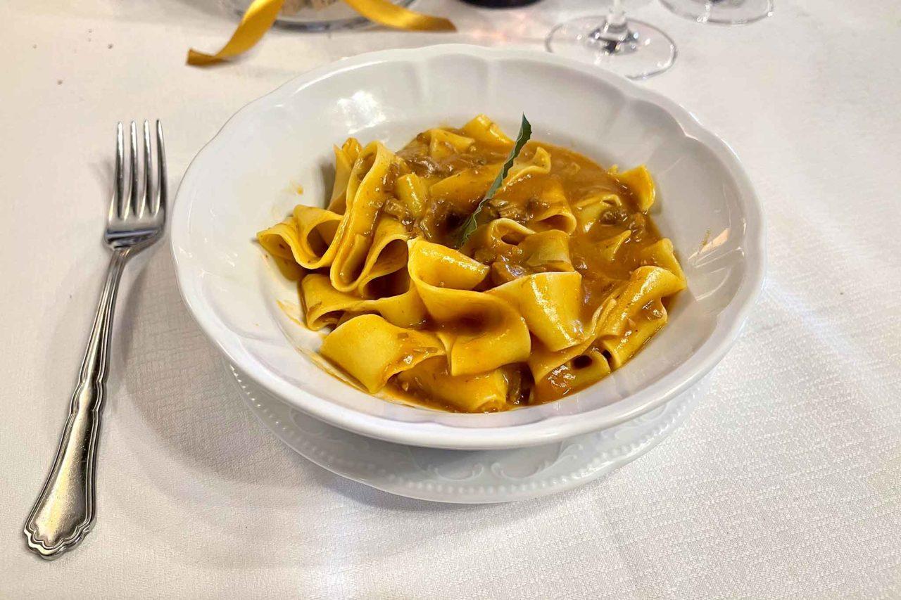ristorante La Botte Monreale Sicilia pappardelle