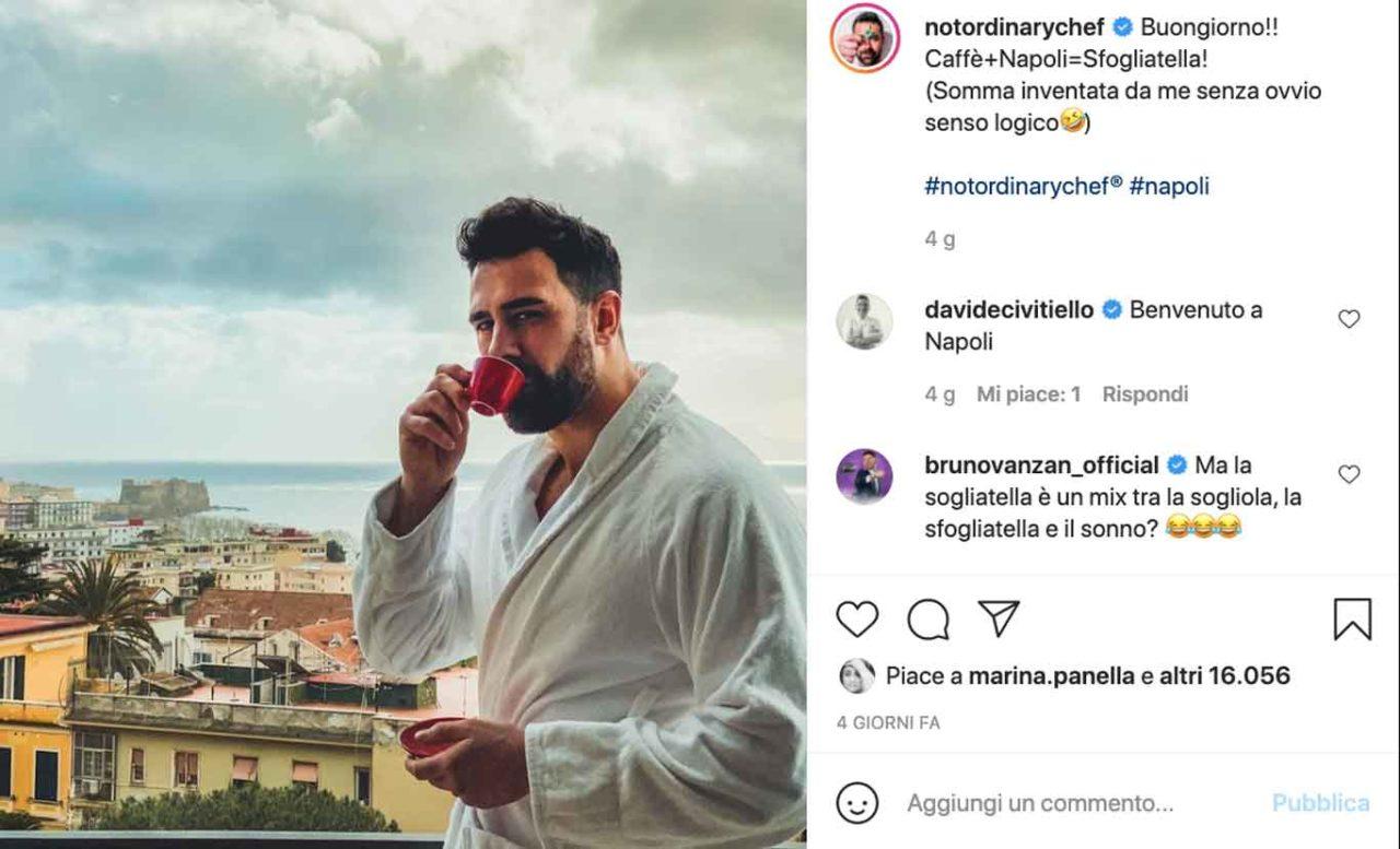 roberto valbuzzi tweet napoli sexy chef