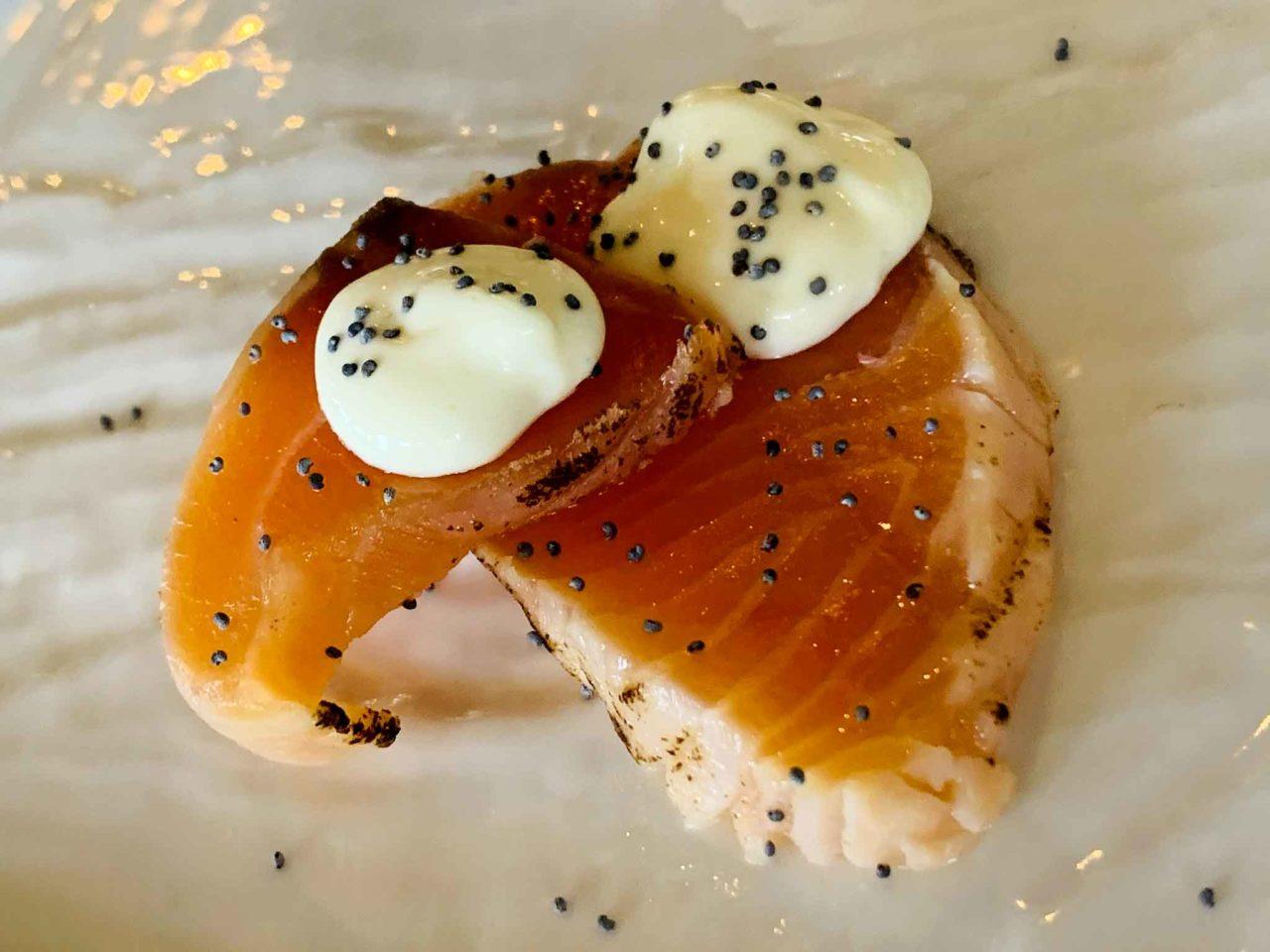 salmone affumicato La Zattera ristorante di pesce Pescara