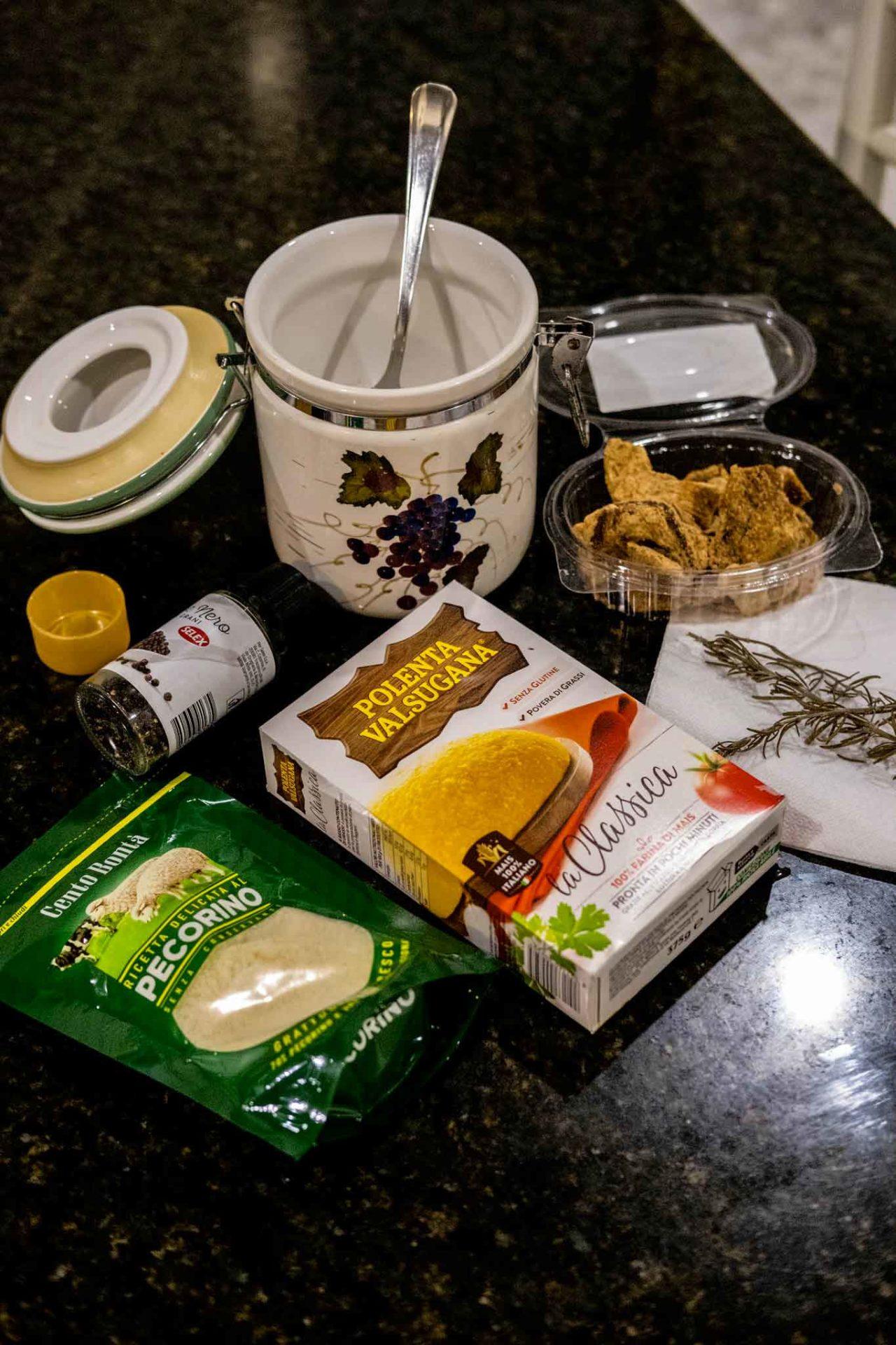 scagliozzi di polenta fritti ingredienti