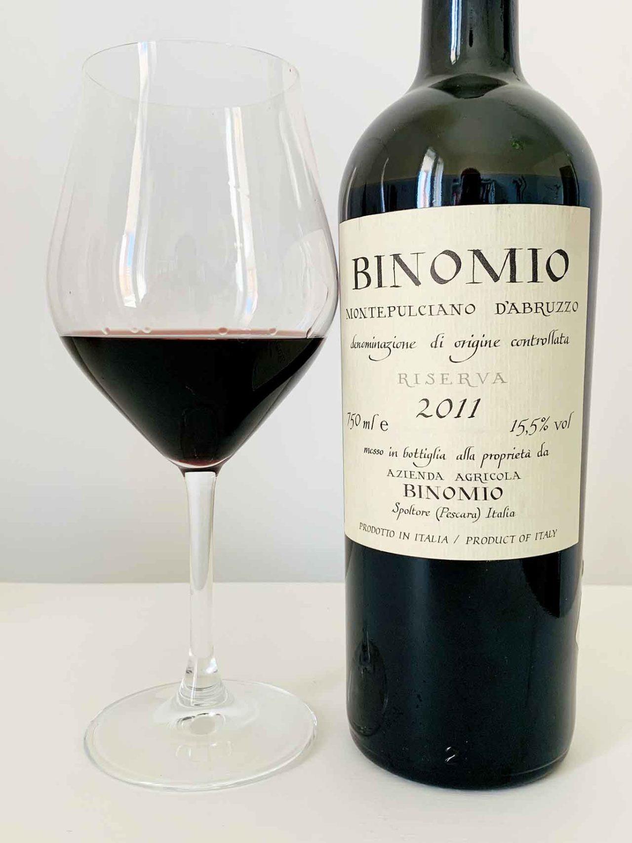 vino Montepulciano d'Abruzzo