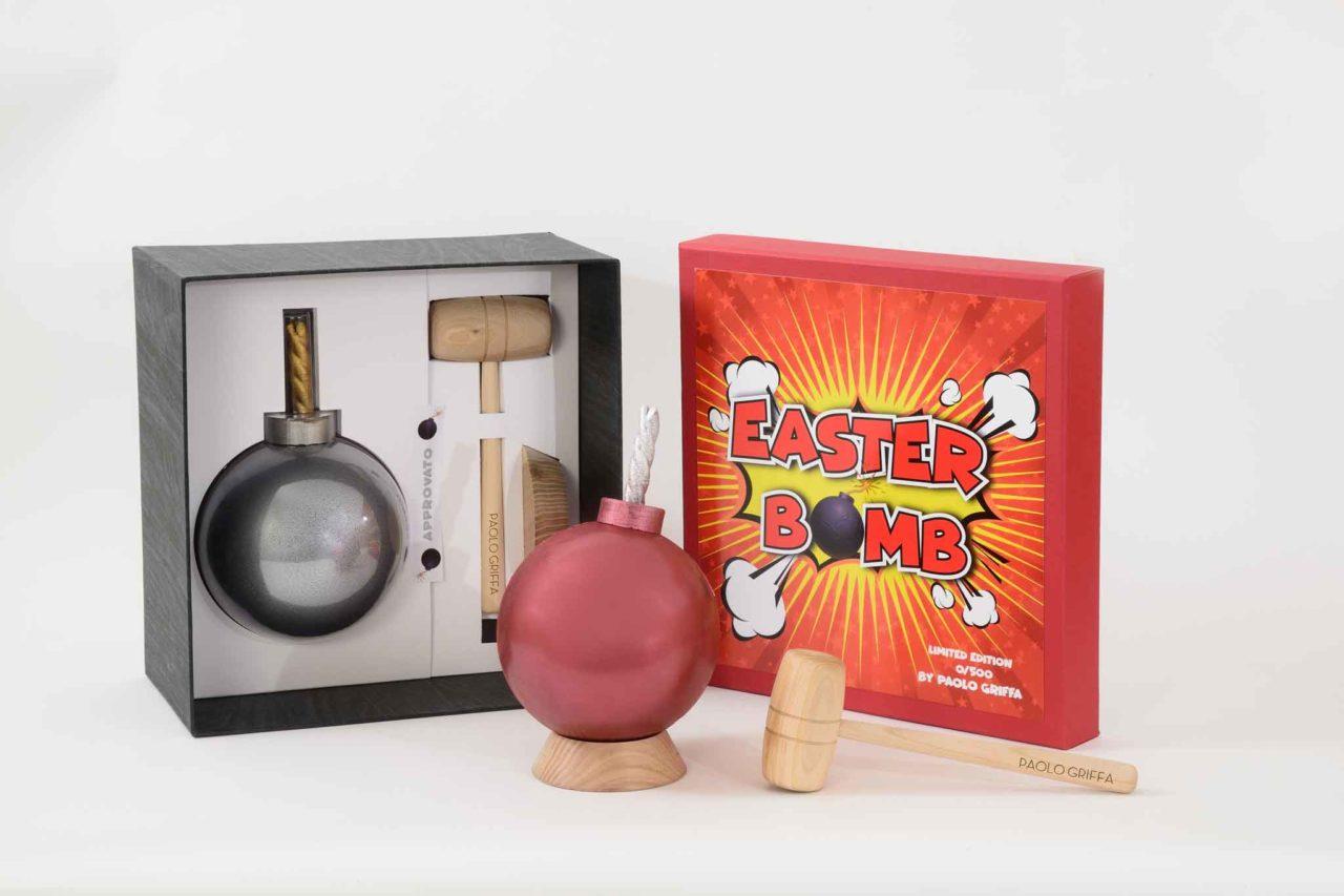 Easter Bomb Paolo Griffa pasqua rossa