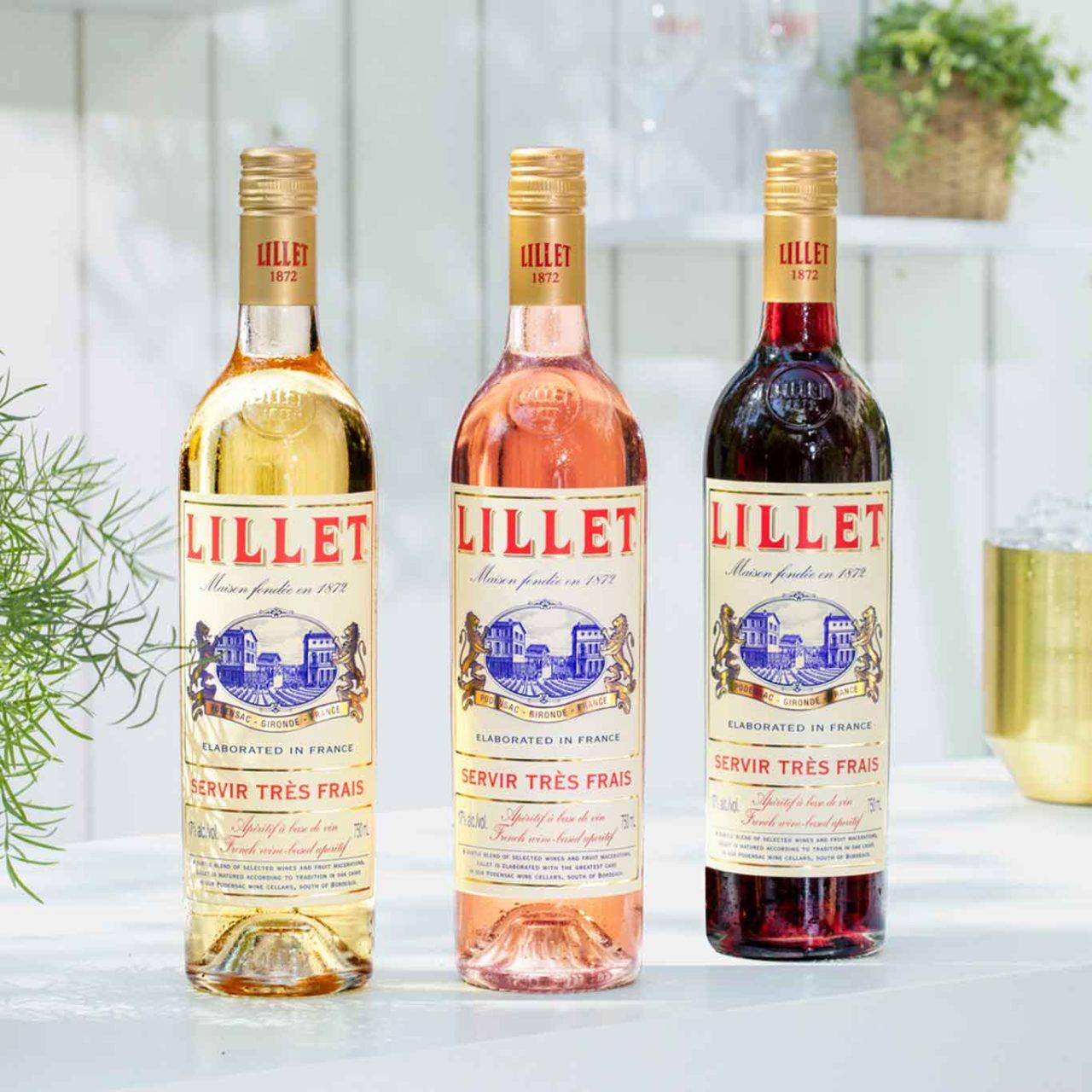 LILLET Blanc Rose Rouge