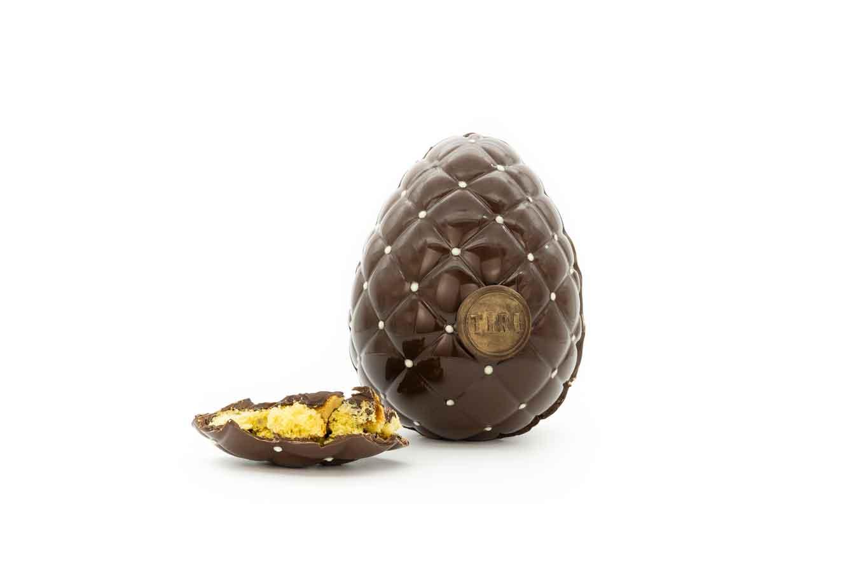 Ovettone uovo pasqua tiri Cioccolato Fondente Vietnam Panettone soffiato.jpg