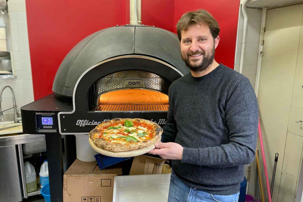 Paolo De Simone pizza forno elettrico