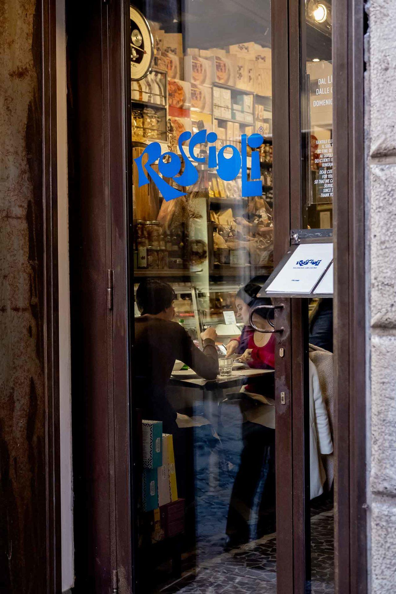 voglia di gastronomia a Roma Roscioli