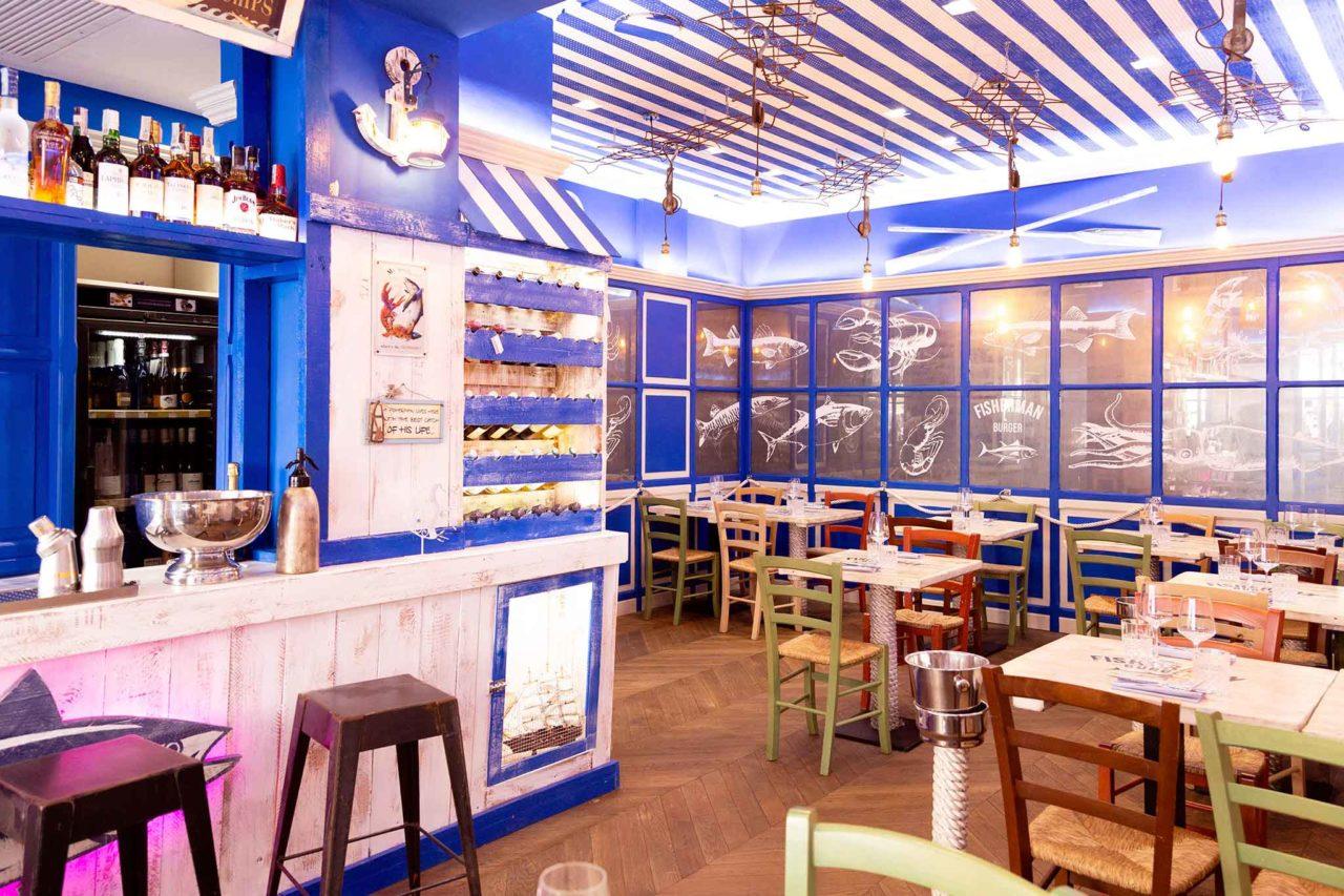 The Fisherman Burger ristorante pescheria Roma