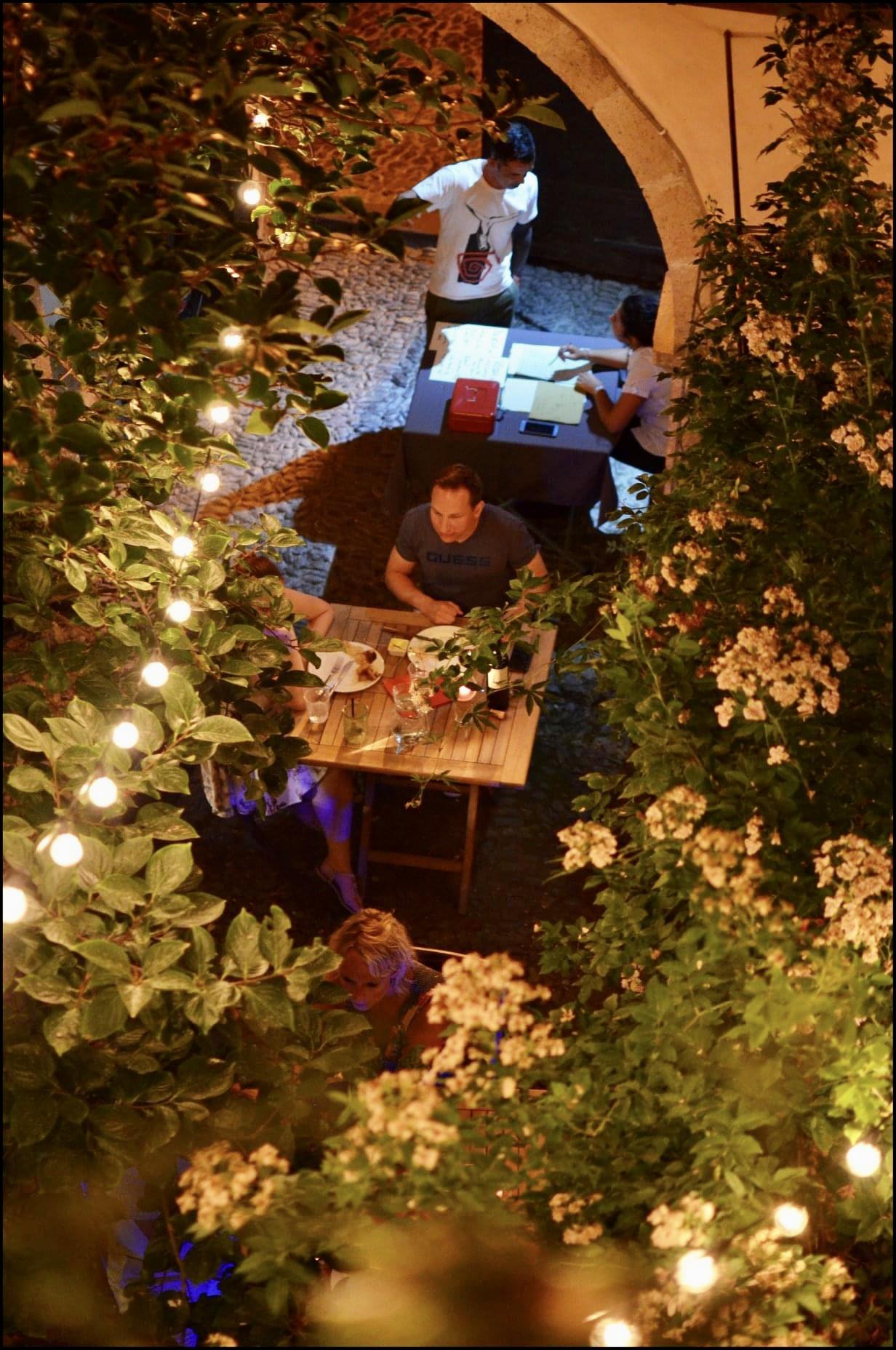 Antica dimora del gruccione ristoranti all'aperto