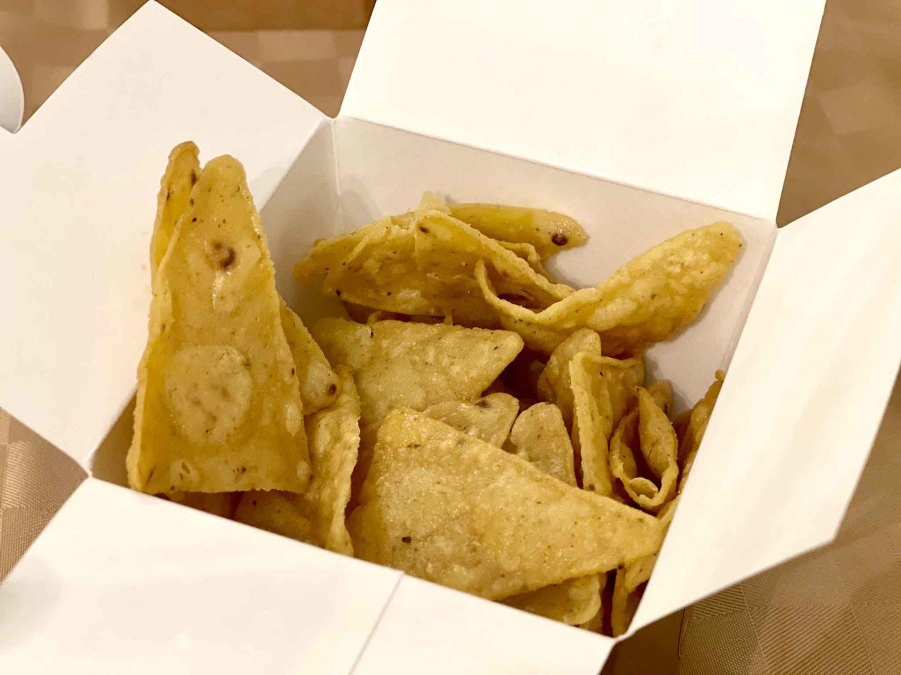 Dark Kitchen Palermo chips di mais