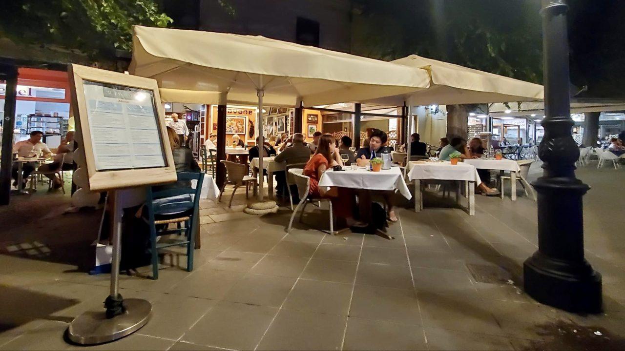 Il pavone ristoranti all'aperto