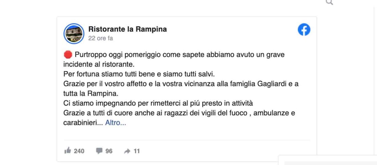 la rampina san giuliano mi post incendio