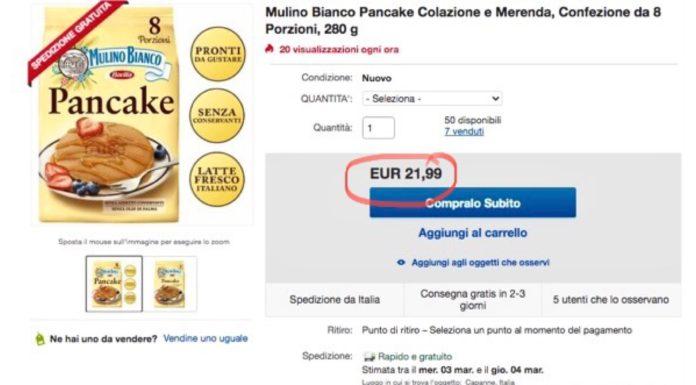 Pancake Mulino Bianco