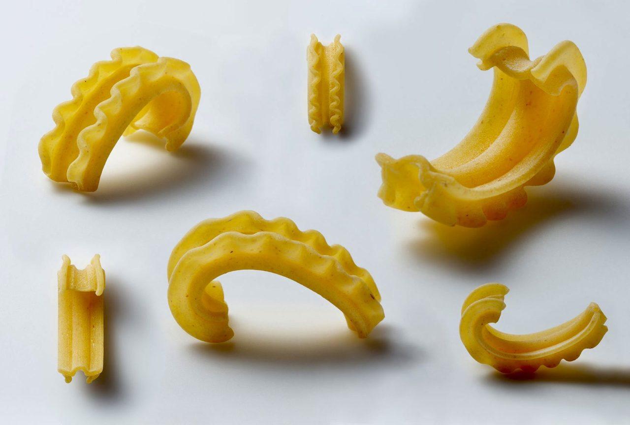 Pasta formato cascatelli