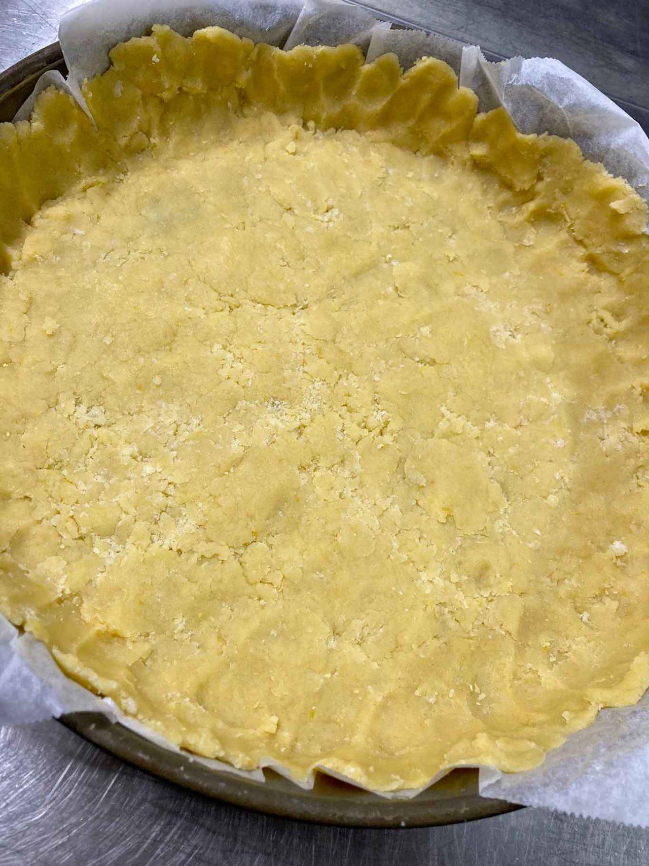 pasta frolla pastiera