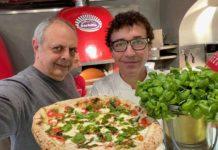 pizza Nonna Carolina con Vincenzo Pagano e Gino Sorbillo