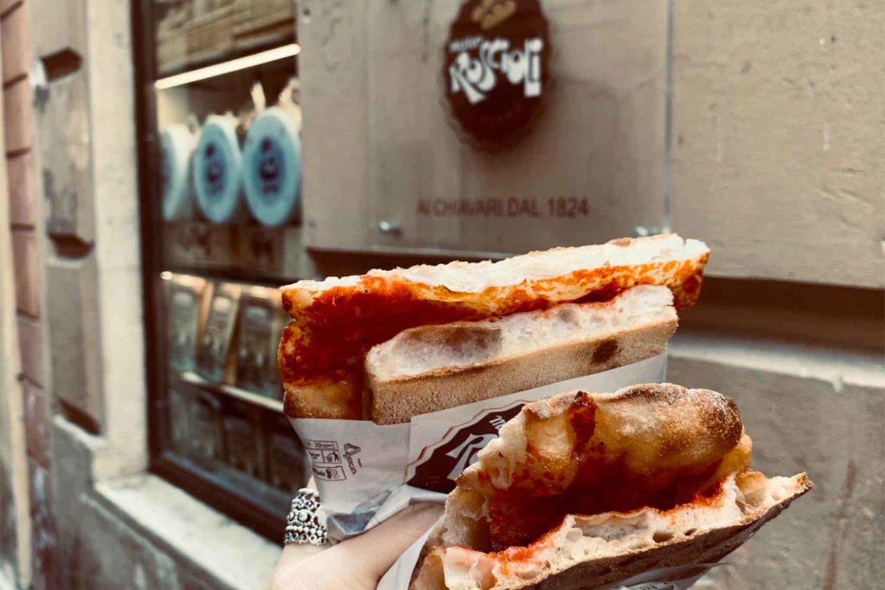 voglia di pizza a Roma Roscioli